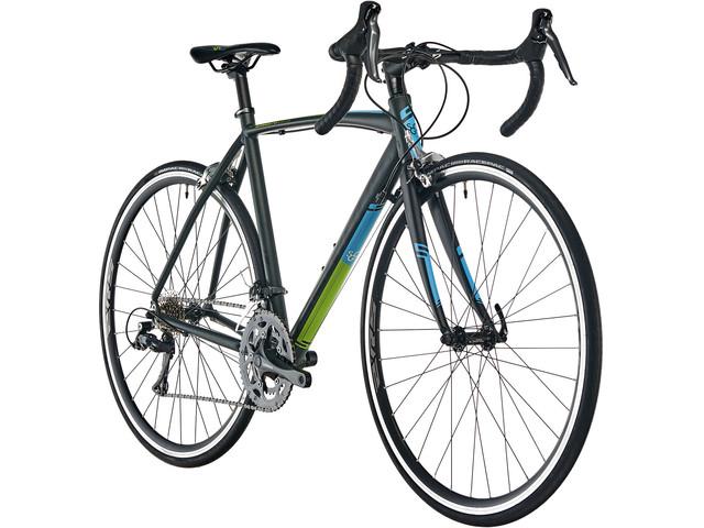 Vélo de Route Serious Valparola Noir - Tailles au choix (bikester.fr)