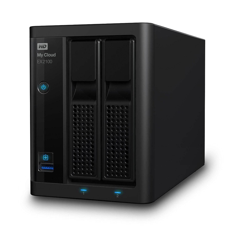 Nas Western Digital  My Cloud Expert Series EX2100 - 4 To
