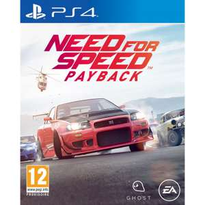 Need for Speed Payback sur PS4 et Xbox One (Via l'Application)