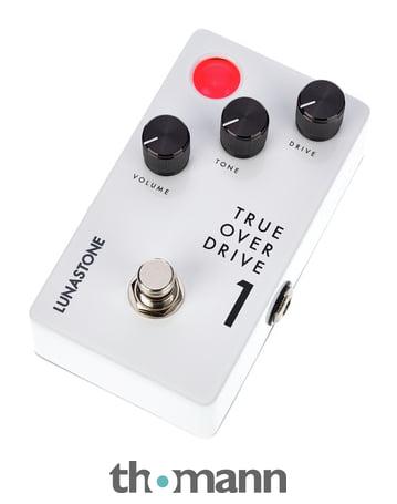 Pédale d'overdrive guitare LunaStone TrueOverDrive 1