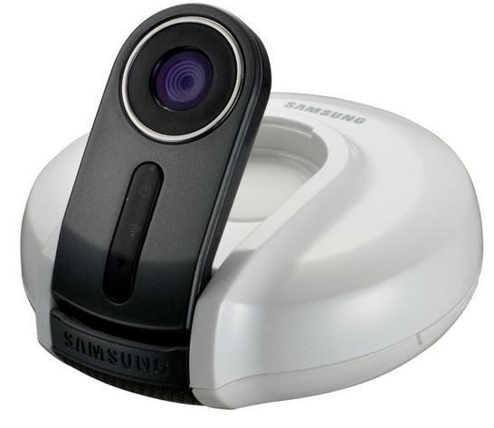 Caméra IP Wifi  Samsung SNH-1010N (Vision de jour et de nuit, 640 x 480 pixels)