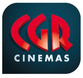 [Carte CGR] Place de cinéma (hors majoration et lunettes 3D)