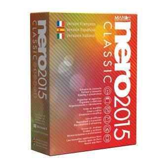 Logiciel Nero 2015 sur PC