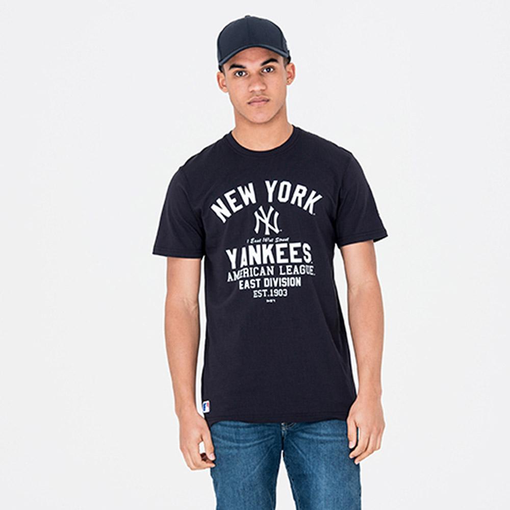 Tee-shirt New Era New-York Yankees - bleu (du XS au L)