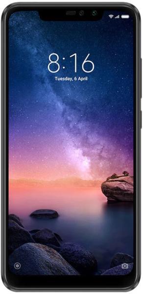 "Smartphone 6.26"" Xiaomi Redmi Note 6 Pro - full HD+, SnapDragon 636, 4 Go de RAM, 64 Go"