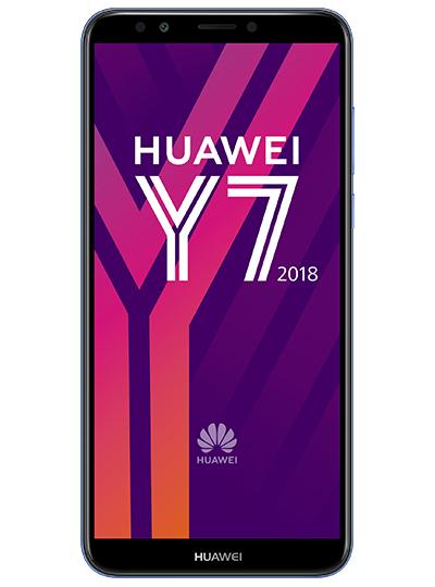 """Smartphone 5.99"""" Huawei Y7 (2018) - 2 Go de RAM, 16 Go de ROM, Bleu (via ODR de 30€)"""