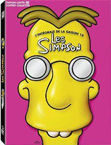 Coffret DVD Les Simpson L'intégrale de la saison 16 - Edition limitée