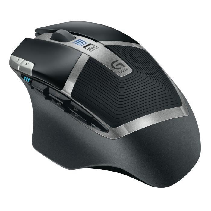 Souris sans-fil Logitech G602 - 2500 dpi, 11 boutons programmables