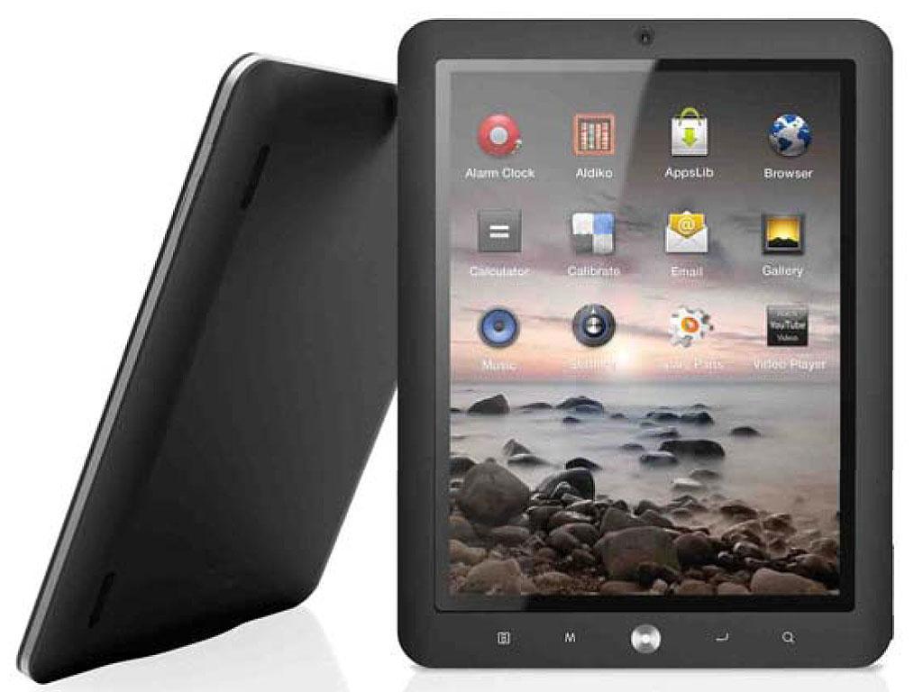 MPMan SlidePad MP824 - Tablette Internet 8'' Résistif - Wi-Fi, 8 Go, Android 2.3