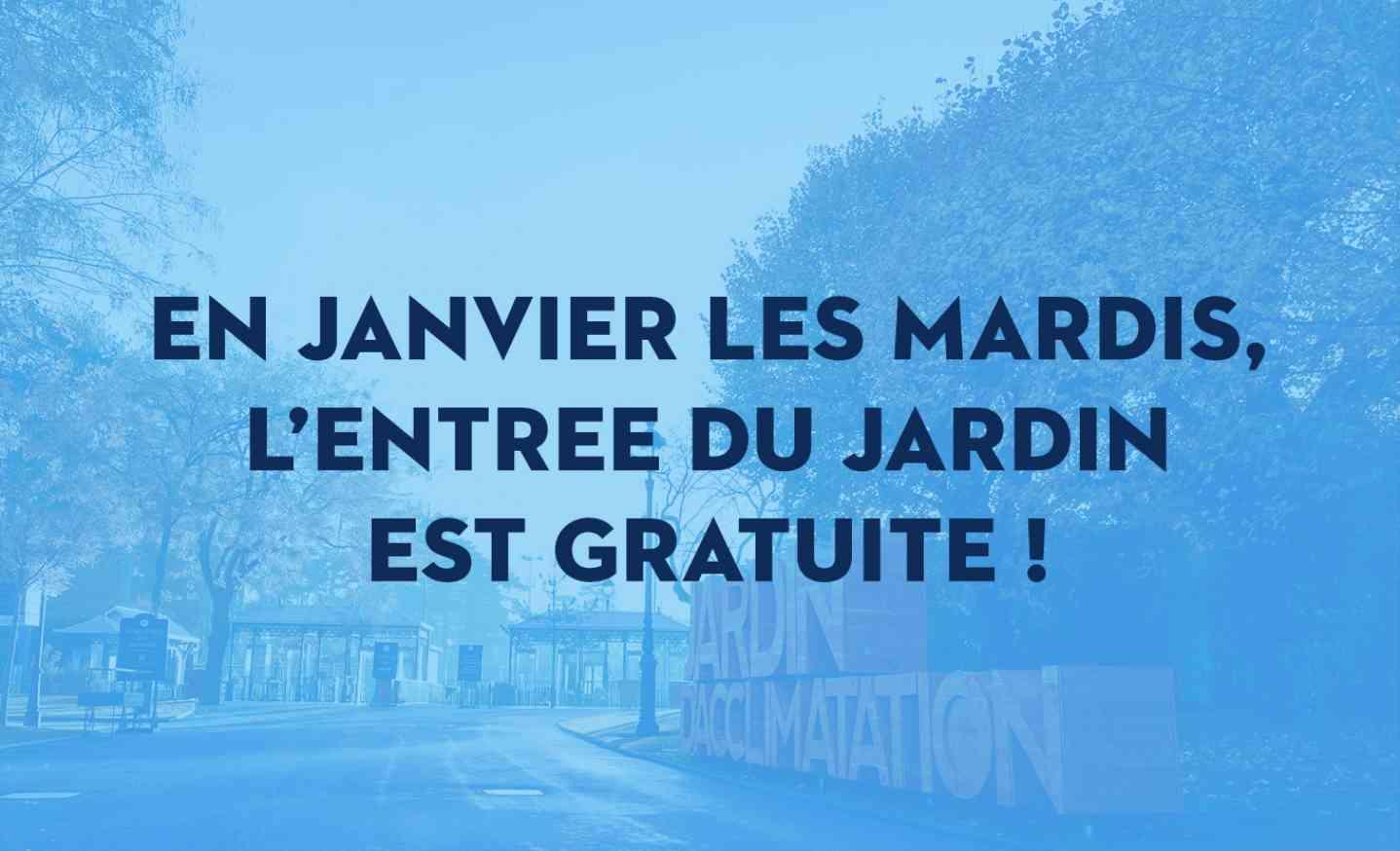 Entree Gratuite Au Jardin D Acclimatation Les Mardis De Janvier