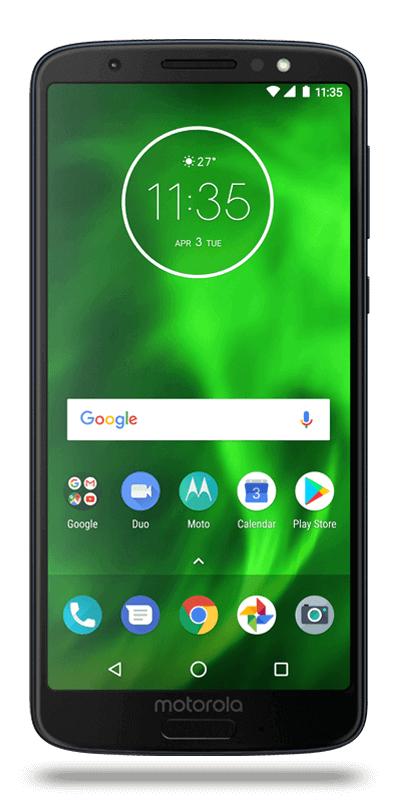 "Smartphone 5.7"" Motorola Moto G6 - double-SIM, full HD+, SnapDragon 450, 3 Go de RAM, 32 Go"