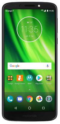 Smartphone Motorola moto g6 play bleu