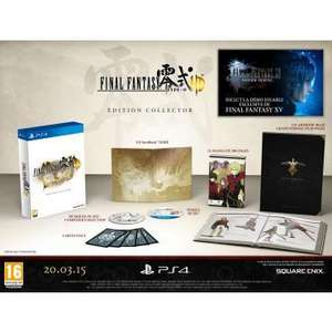 Jeu Final Fantasy Type 0 HD sur PS4 - Edition Collector