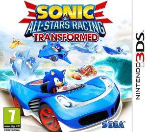 Sonic & All-Stars Racing Transformed sur 3DS