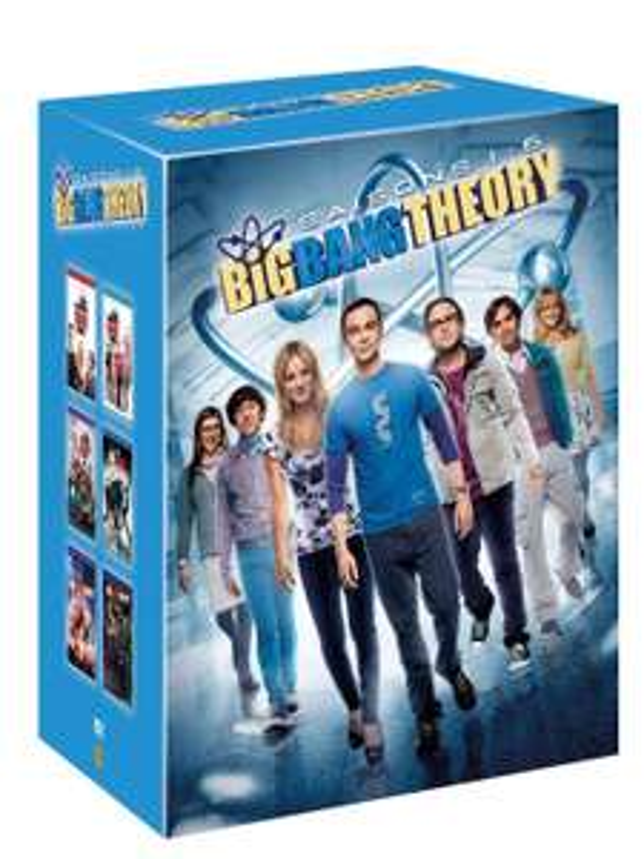 Coffret DVD: Big Bang Theory - Intégrale des saisons 1 à 6