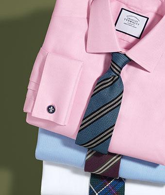 50% de réduction sur une sélection de chemises Charles Tyrwhitt
