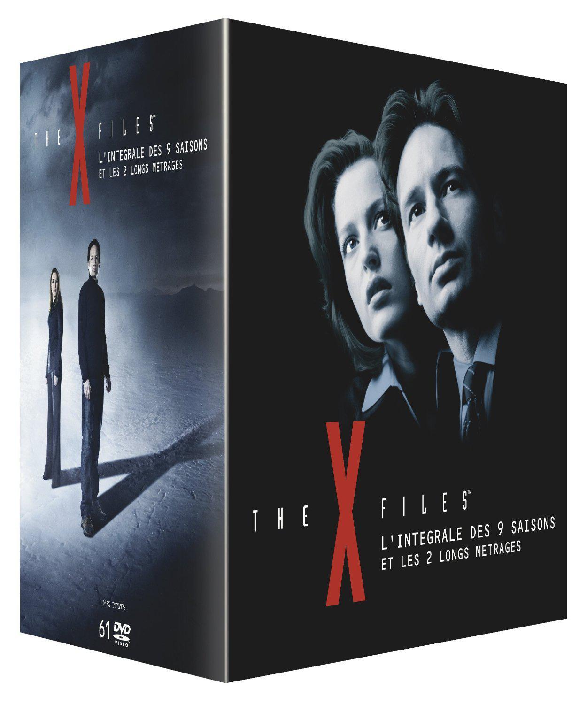 Coffret DVD: X-Files - L'intégrale des 9 saisons