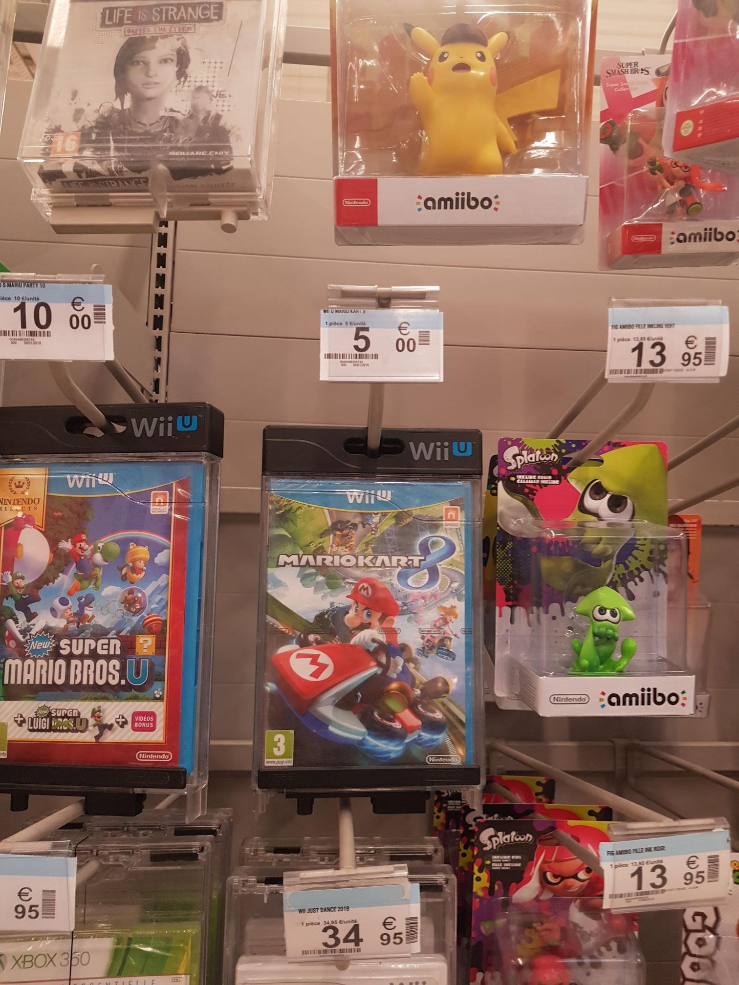 Sélection de jeux en soldes - Ex : Mario kart 8 sur Wii U - Digne les bains (04)