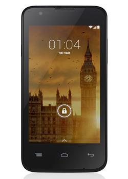 "Smartphone 4"" Kazam Trooper 440L - 4G - Noir (via ODR de 20€)"