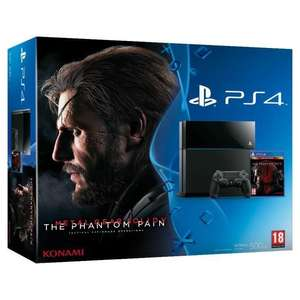 Pack Console Sony PS4 500 Go  + jeu Metal Gear Solid V