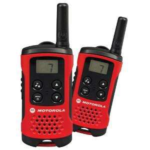 Paire de talkies walkies Motorola T40 - 4km Rouge