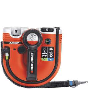 Compresseur 2 en 1 - Sans fil 11 bars Black & Decker