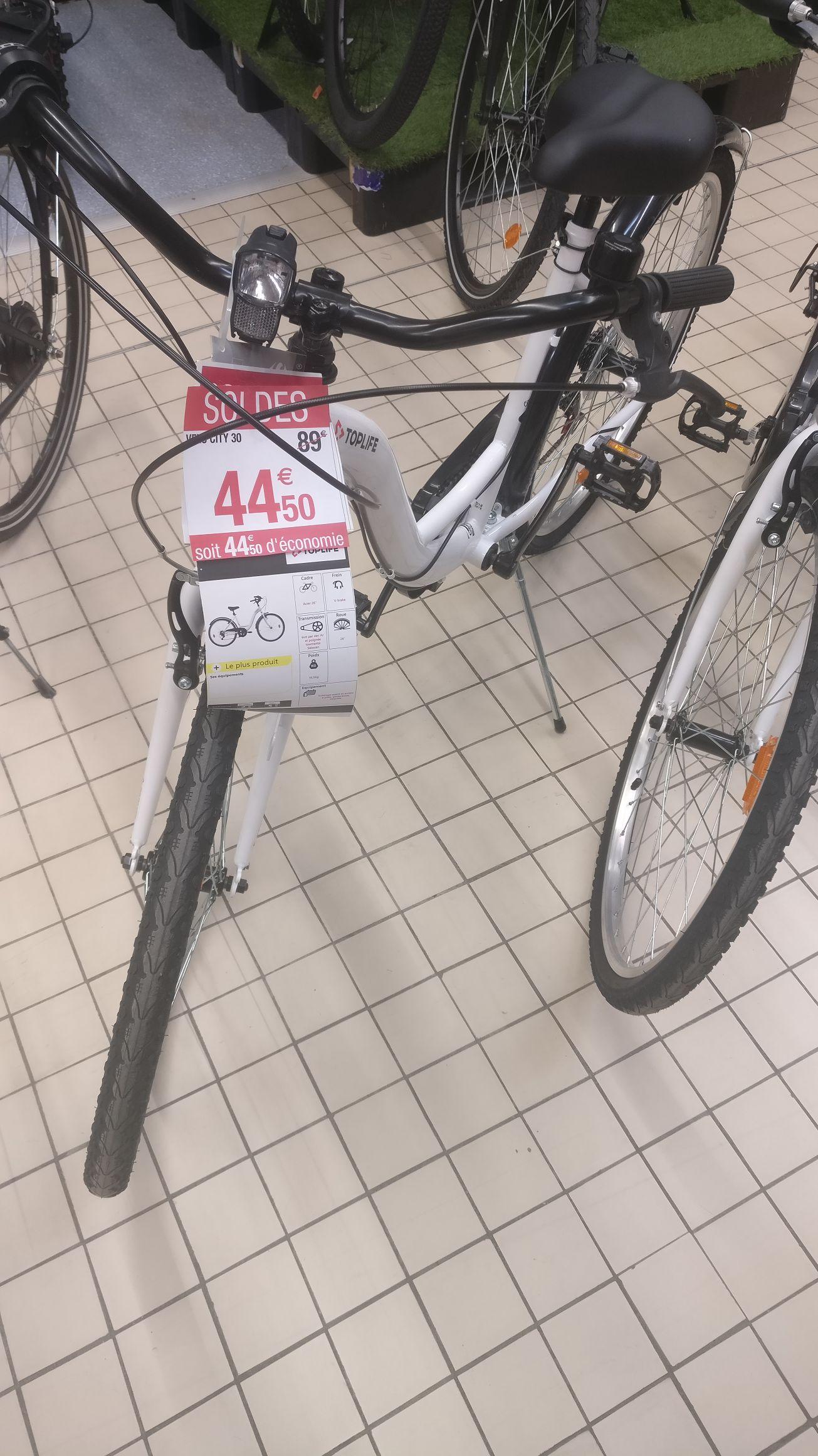 """Vélo 26"""" City 30 - Lattes (34)"""