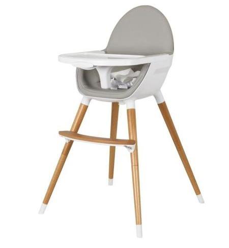 Chaise haute ergonomique Tanuki en Bois pour Bébé - 2 Positions