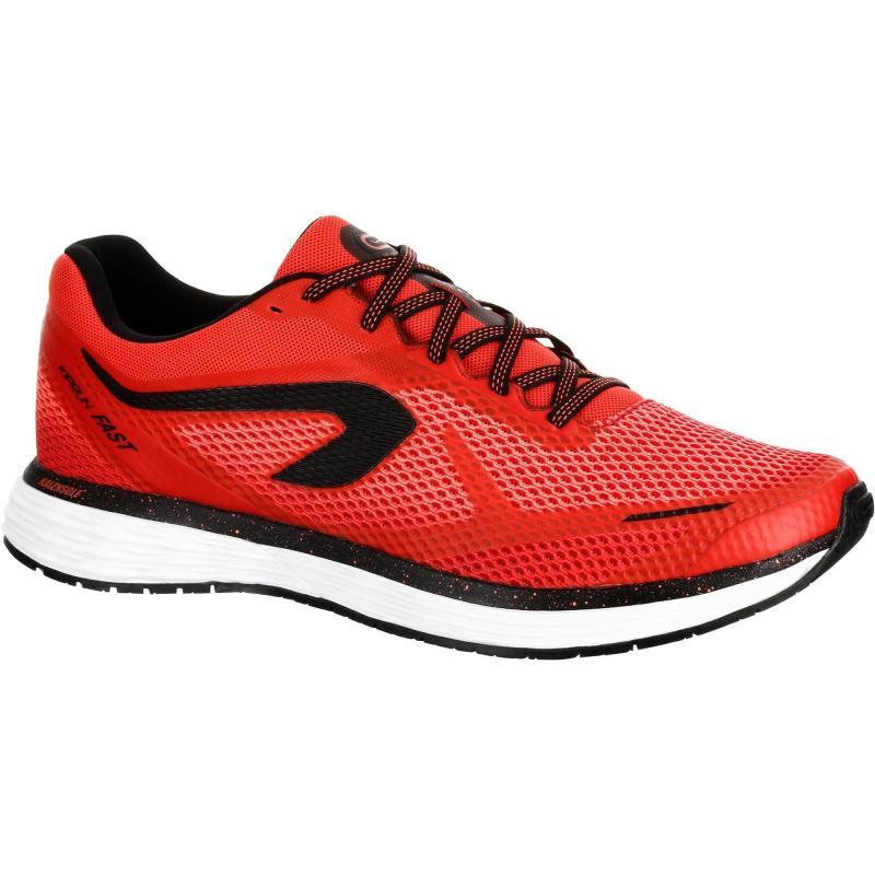 outlet store f3c59 1abc4 Chaussures de Running Homme Kiprun Fast Rouge Noir Kalenji