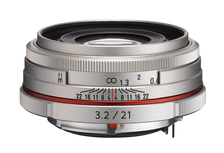 Objectif Pentax 21420 HD DA 21 mm f3.2AL Argent