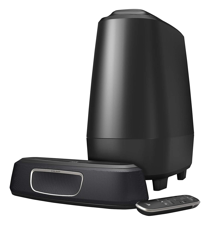 barre de son polk audio magnifi mini caisson de basses sans fil. Black Bedroom Furniture Sets. Home Design Ideas