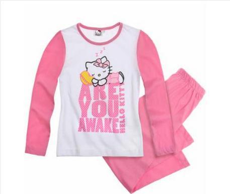 Pyjama Hello Kitty fushia (Taille 10 ans)