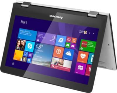 "Pc portable 11,6"" Lenovo  Yoga 300 (Celeron, 4 Go Ram, 8 Go SSD + 500 Go HDD)"