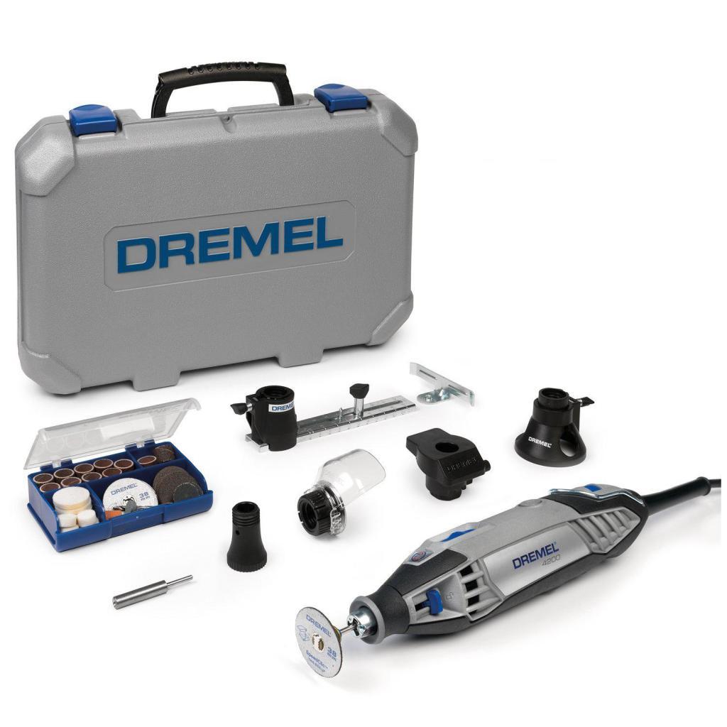 Outil multifonction Dremel 4200 avec coffret, guides et 75 accessoires