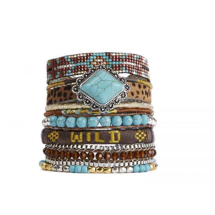 Bracelet Brownwild Hipanema - 18cm
