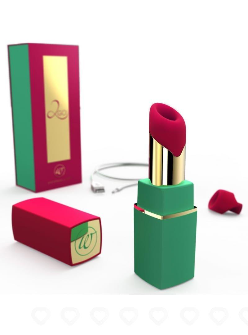 Stimulateur féminin Womanizer 2Go Effet Succion - Rose et Vert