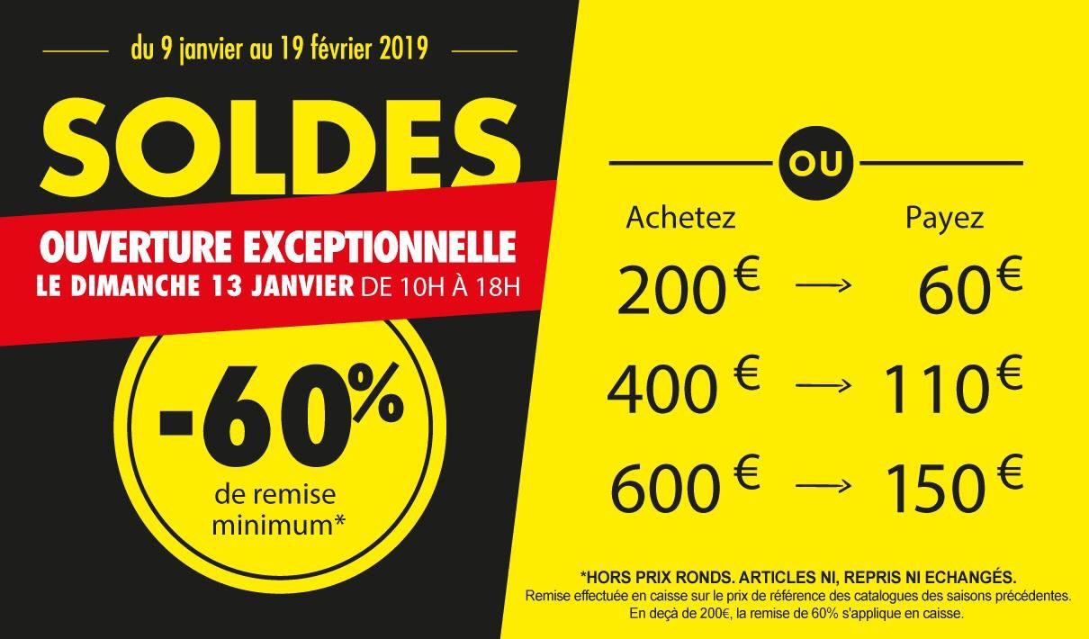 De 60 à 75% de réduction sur tout le magasin d'usine - Tourcoing (59)