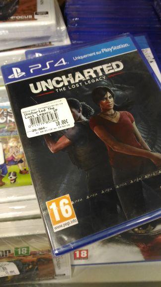 Sélection de Jeux en Promotion - Ex: Uncharted: The Lost Legacy sur PS4 - Concarneau (29)