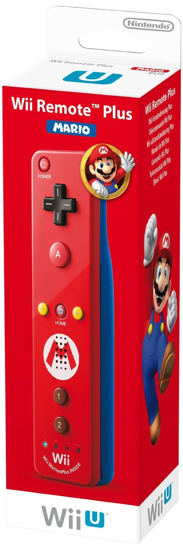 Manette Wii U Plus - Edition Mario