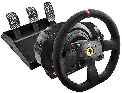 Volant Thrustmaster T300 Ferrari Integral Racing Wheel Alcantara Edition - Réplique de la Ferrari 599XX Evo- PC/PS3/PS4