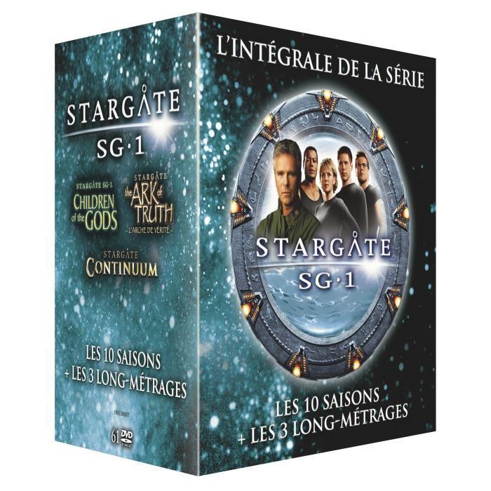 Coffret DVD Stargate SG-1 - L'intégrale des 10 saisons + 3 films