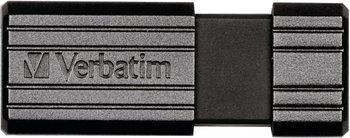 Clé USB Verbatim PinStripe 64Go (Noire)