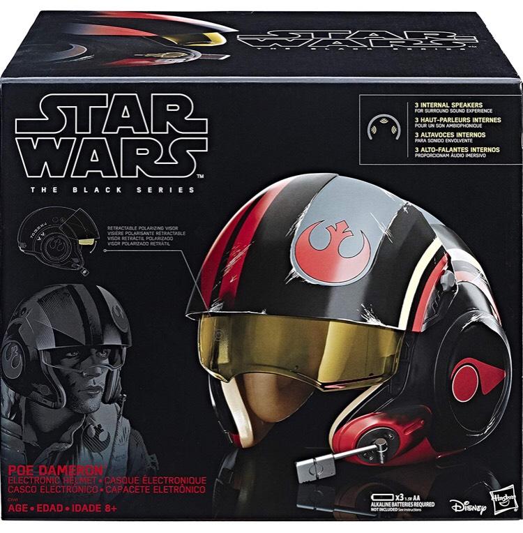 Casque Electronique Star Wars Black Series - Poe Dameron
