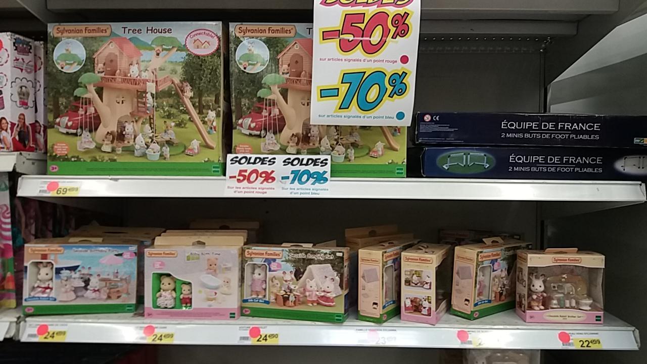 50% de réduction sur une sélection de jouets Sylvanian Families - Ex : Tree House