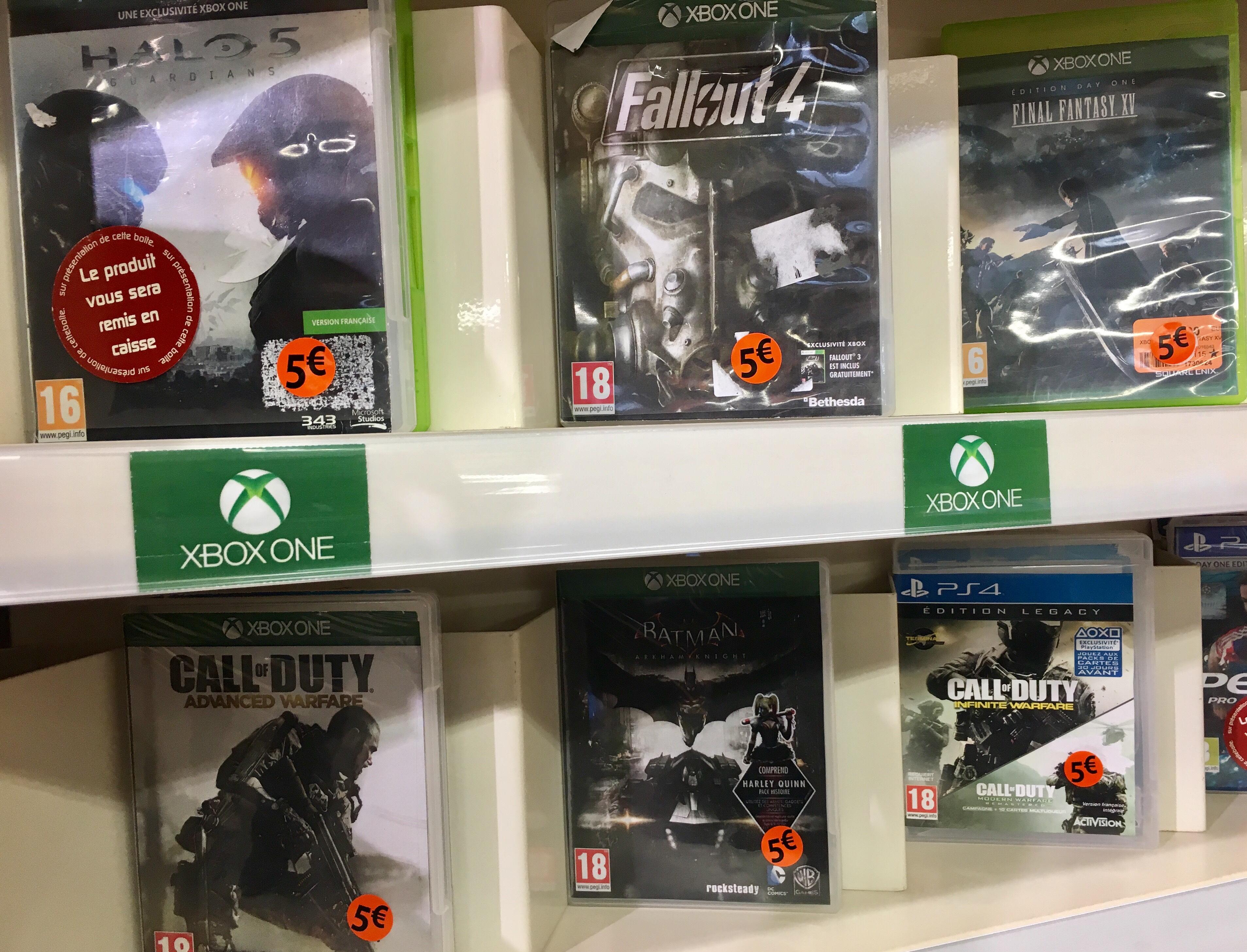 Sélection de jeux vidéo PS4   One à 5€ - Picwic Orvault (44) 3bb1edbeccb3
