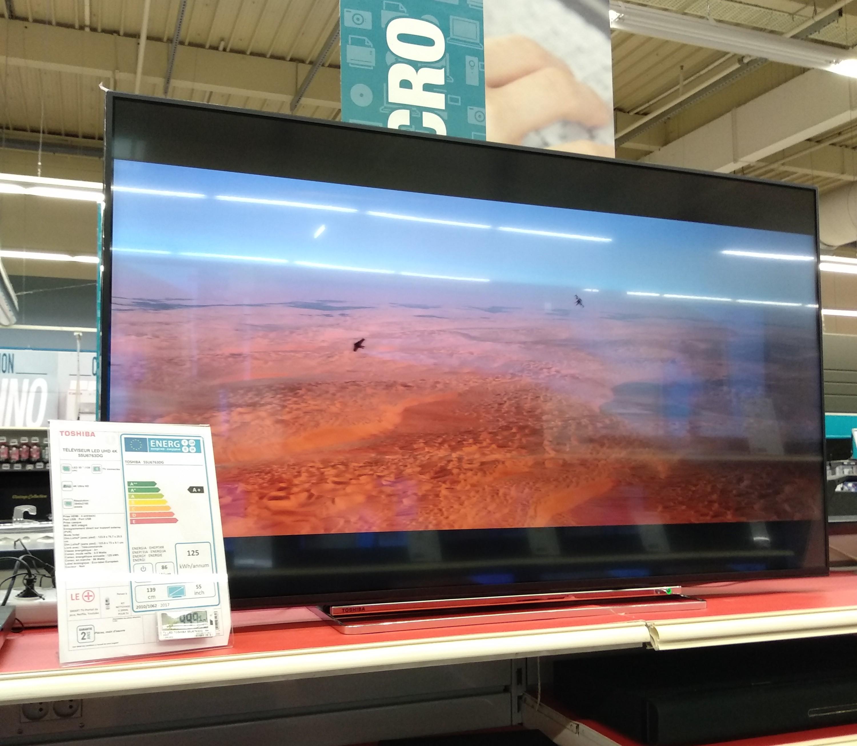 """TV 55"""" Toshiba 55u6763dg - UHD 4K - Saintes (17)"""