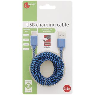 Câble USB type C Sologic - 2,5M