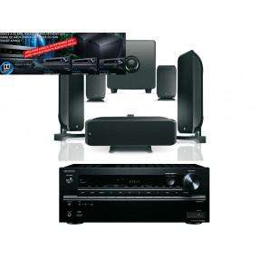 Amplificateur onkyo TX-NR646 noir + Pack Cinema Focal Jet noir
