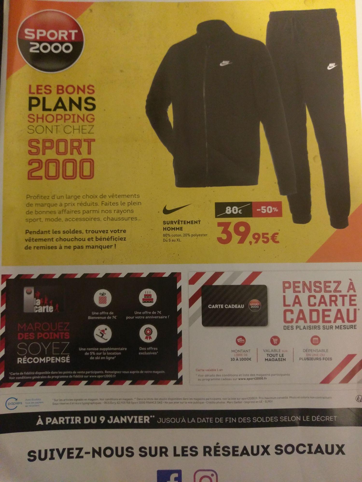Survêtement Nike pour Homme - S au XL
