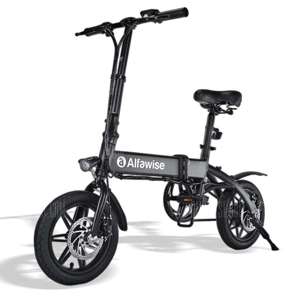 Vélo Électrique Pliant Alfawise X1 - Batterie 7.8Ah